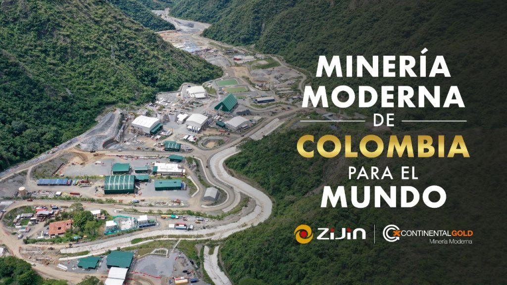 Minería Moderna de Colombia para el mundo
